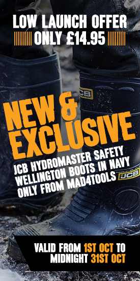 Launch Offer On New Exclusive JCB Hydromaster Boots Navy