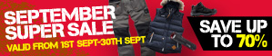September Super Sale - Save Up To 70%