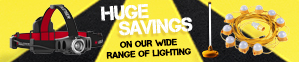 Huge Savings On Our Wide Range Of Lighting