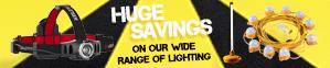 Huge Savings On Our Wide Range Of Lighting