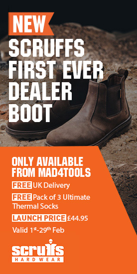 New Scruffs Dealer Boot Launch Offer