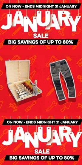 January Sale Now On - Save Up To 80%