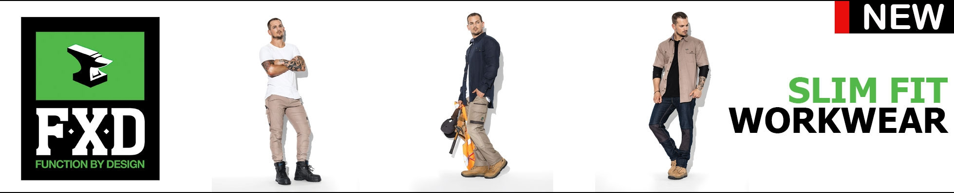 FXD New Slim Fit Workwear