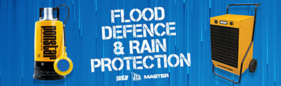 Extreme Weather Flood Defence and Rain Protection