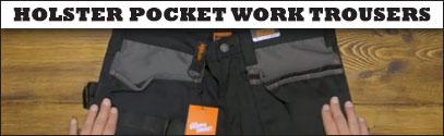 Holster Pocket Work Trousers
