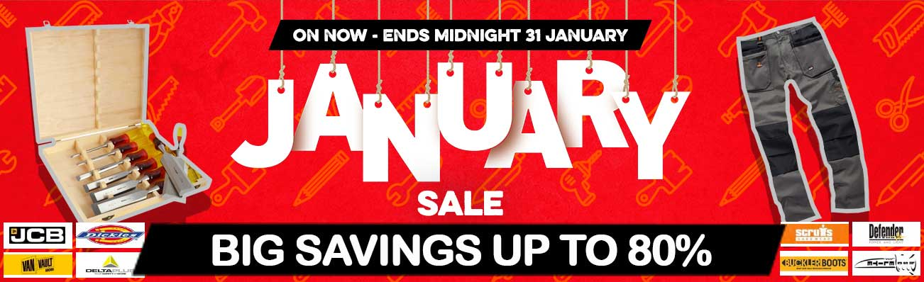 January Sale On Now!