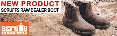 New Scruffs Raw Dealer Boot