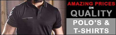 Amazing Prices On Quality Polo's & T-Shirts