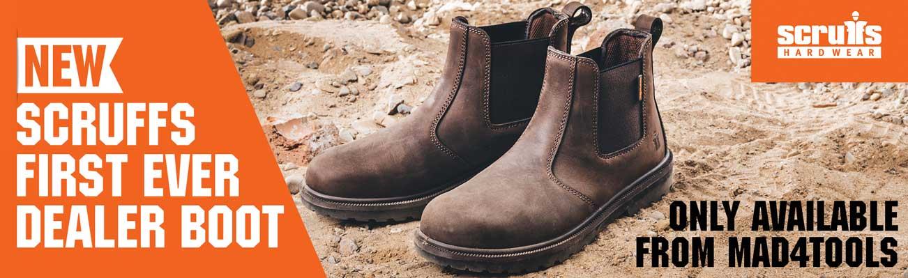 New Exclusive Scruffs Raw Dealer Boot