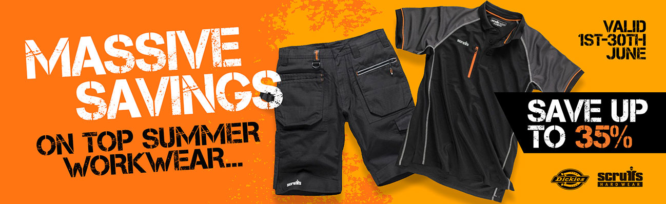 MAD Summer Workwear Offers - Save Up To 35%
